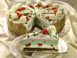 strawberry ice cream pistachio ice cream cake pistachio ice cream cake ...