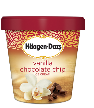H 228 Agen Dazs 14oz Servings Delta Ice Cream