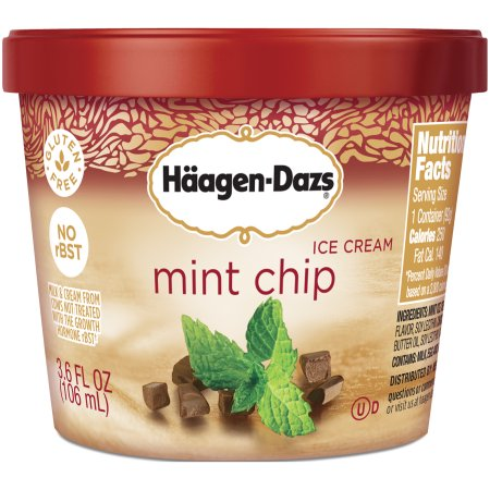 Haagen dazs single serve cups