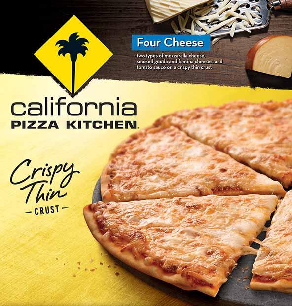 California Pizza Kitchen Frozen White Pizza Nutrition